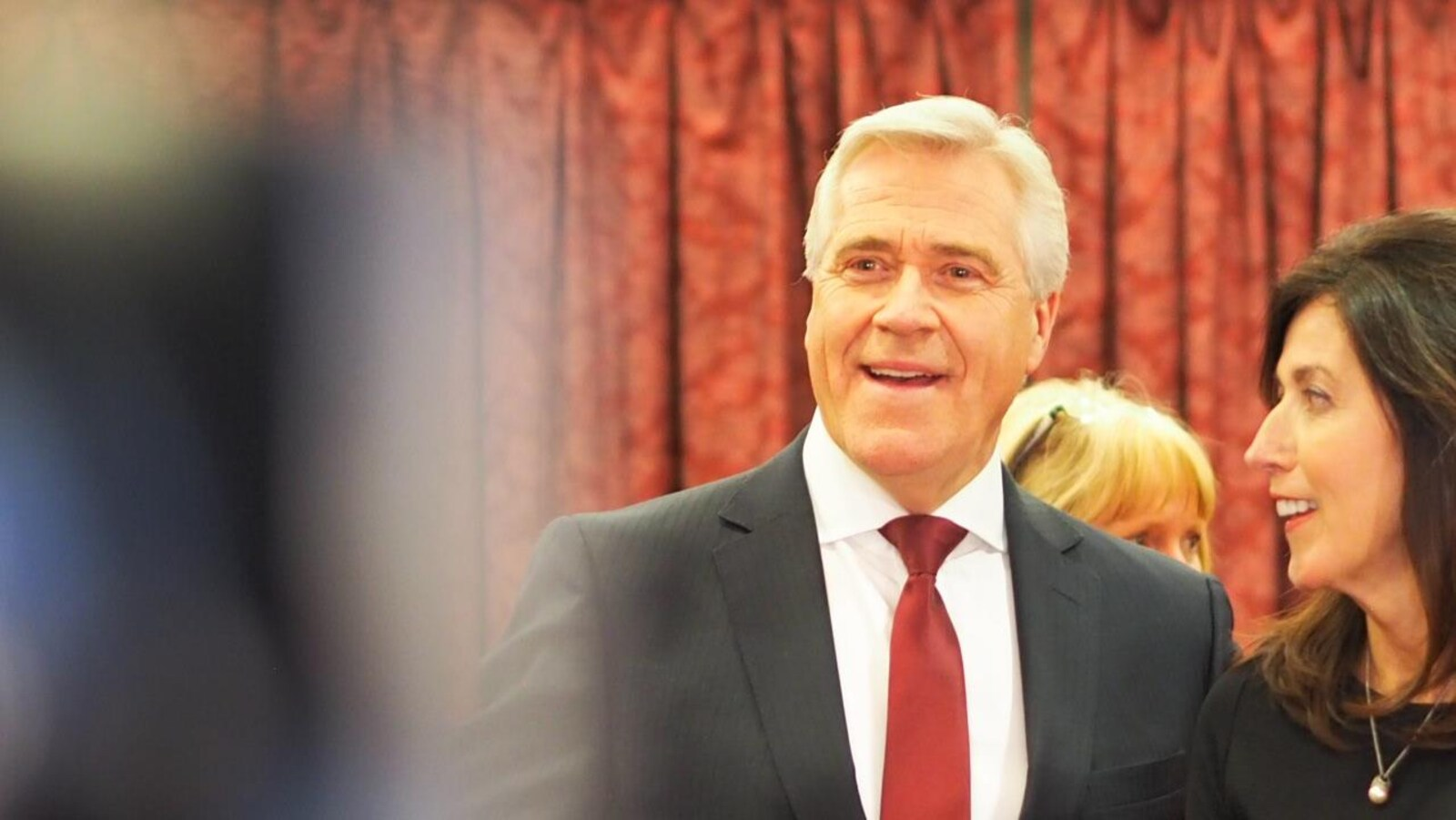 Dwight Ball, chef du Parti libéral de Terre-Neuve-et-Labrador.