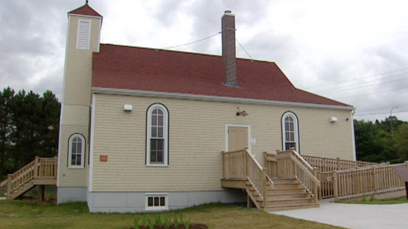 La réplique de l'église baptiste d'Africville