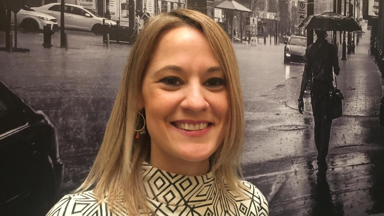 Elsie Lefebvre, conseillère municipale de Villeray