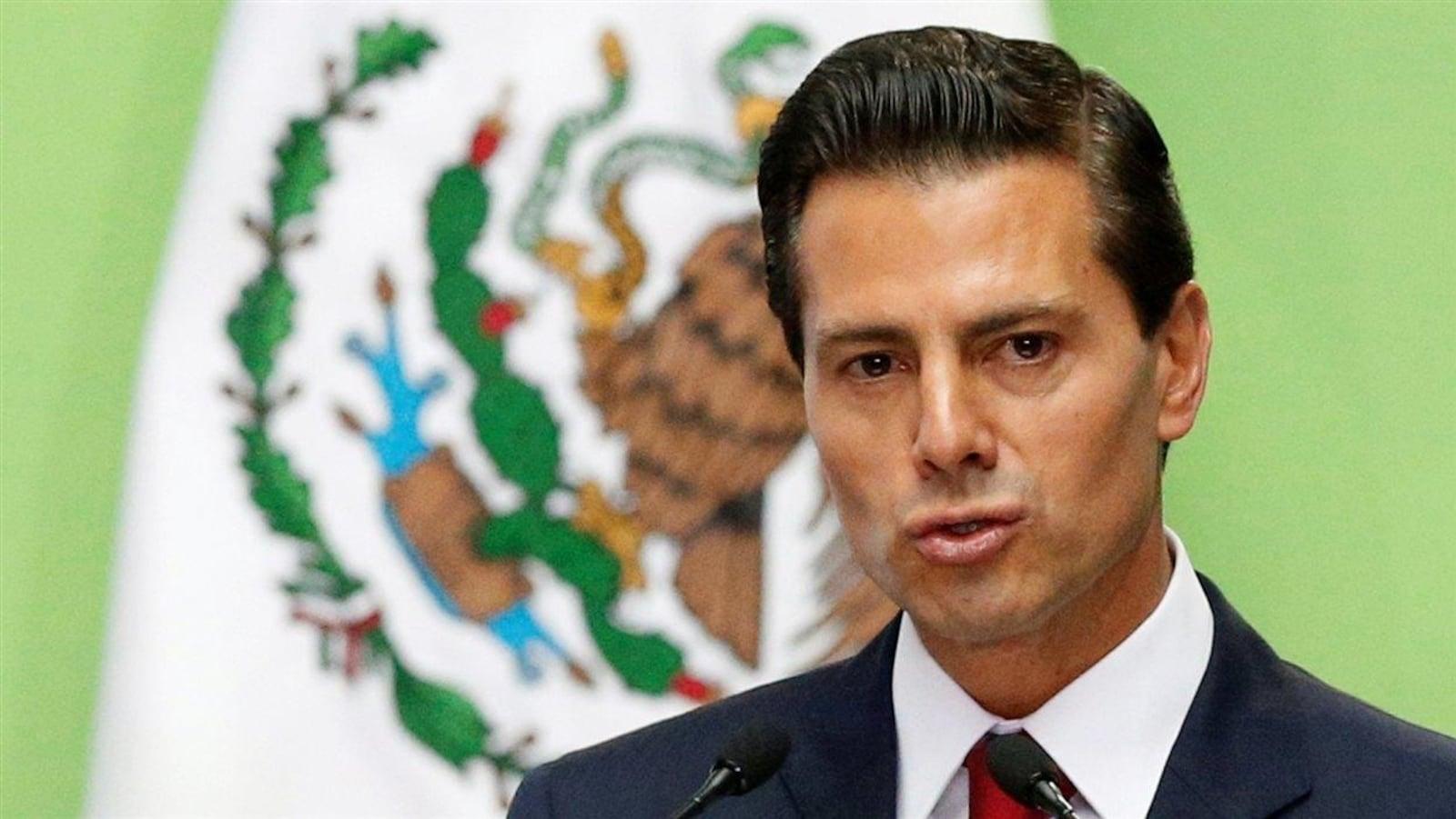 Le président du Mexique, Enrique Peña Nieto
