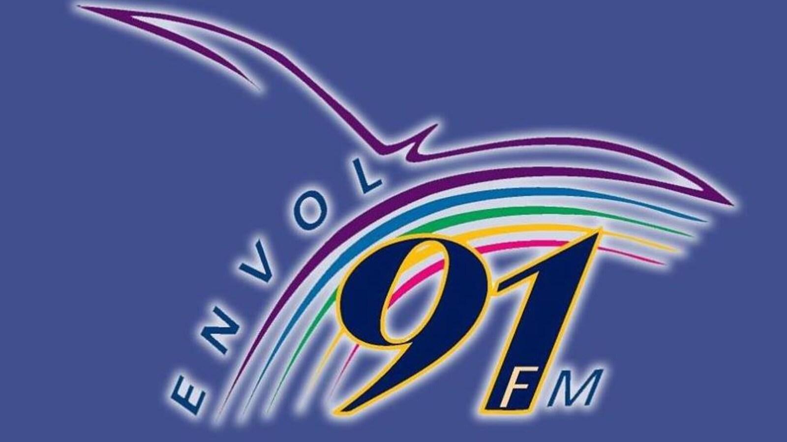 Le logo de la radio Envol 91,1 FM
