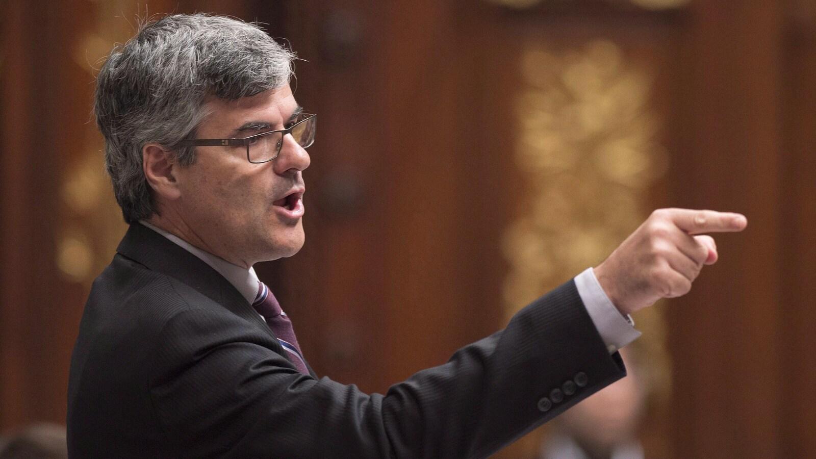 Le député de la CAQ, Éric Caire.