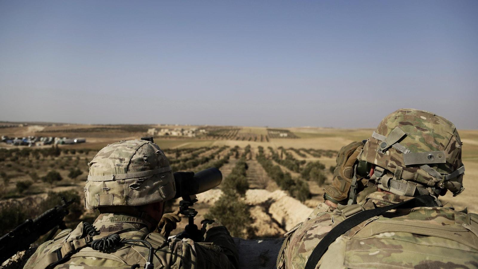 La coalition internationale annonce avoir entamé le retrait de ses troupes — Syrie