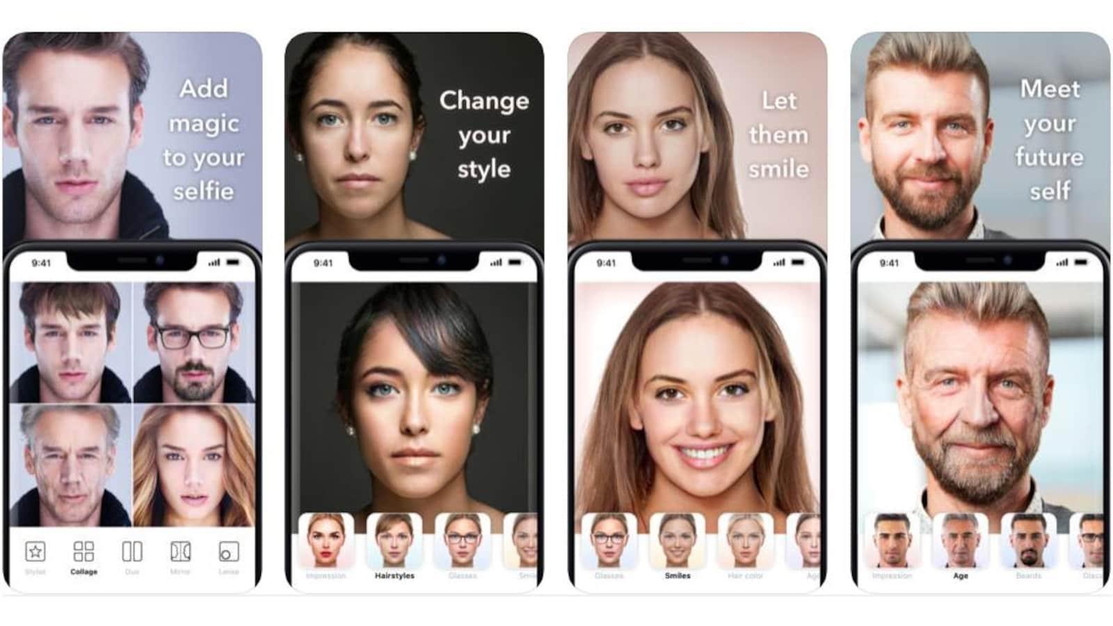 L'application de vieillissement qui inquiète — FaceApp