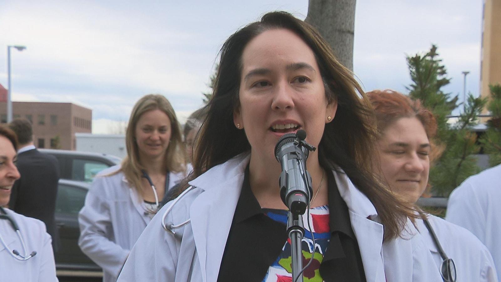 La docteure Gabrielle Gagnon est la parole-parole des médecins favorables à l'implantation d'un campus décentralisé de médecine à Rimouski et dans l'Est-du-Québec