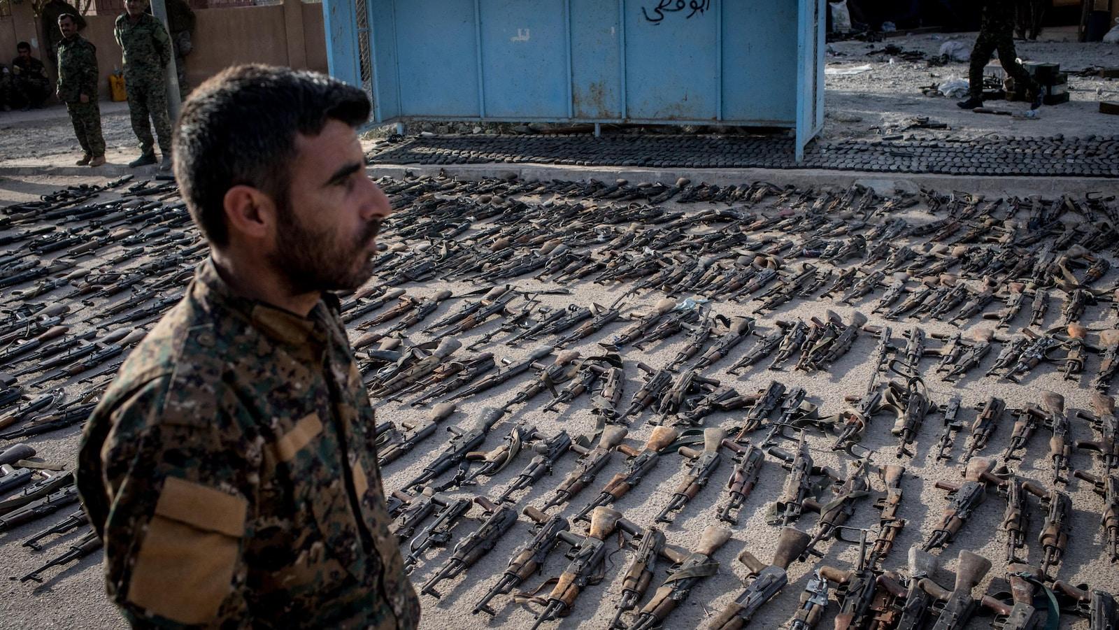 La fin du califat autoproclamé de l'Etat islamique — Syrie