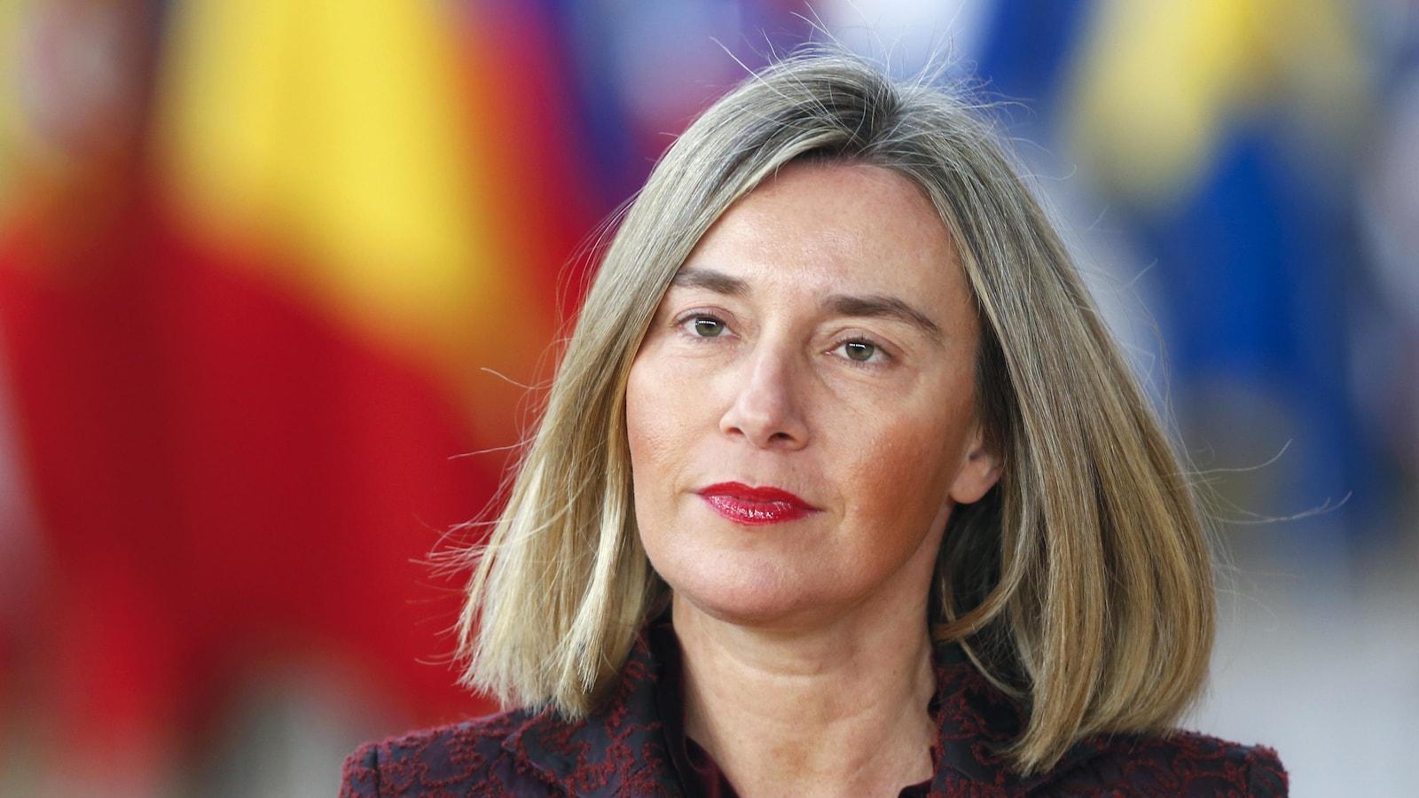 Federica Mogherini, représentante de la diplomatie de l'UE