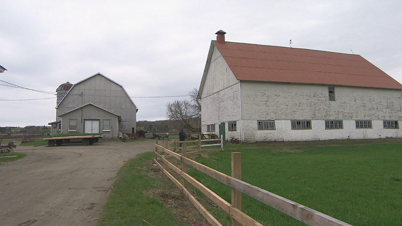 Une ferme en Estrie