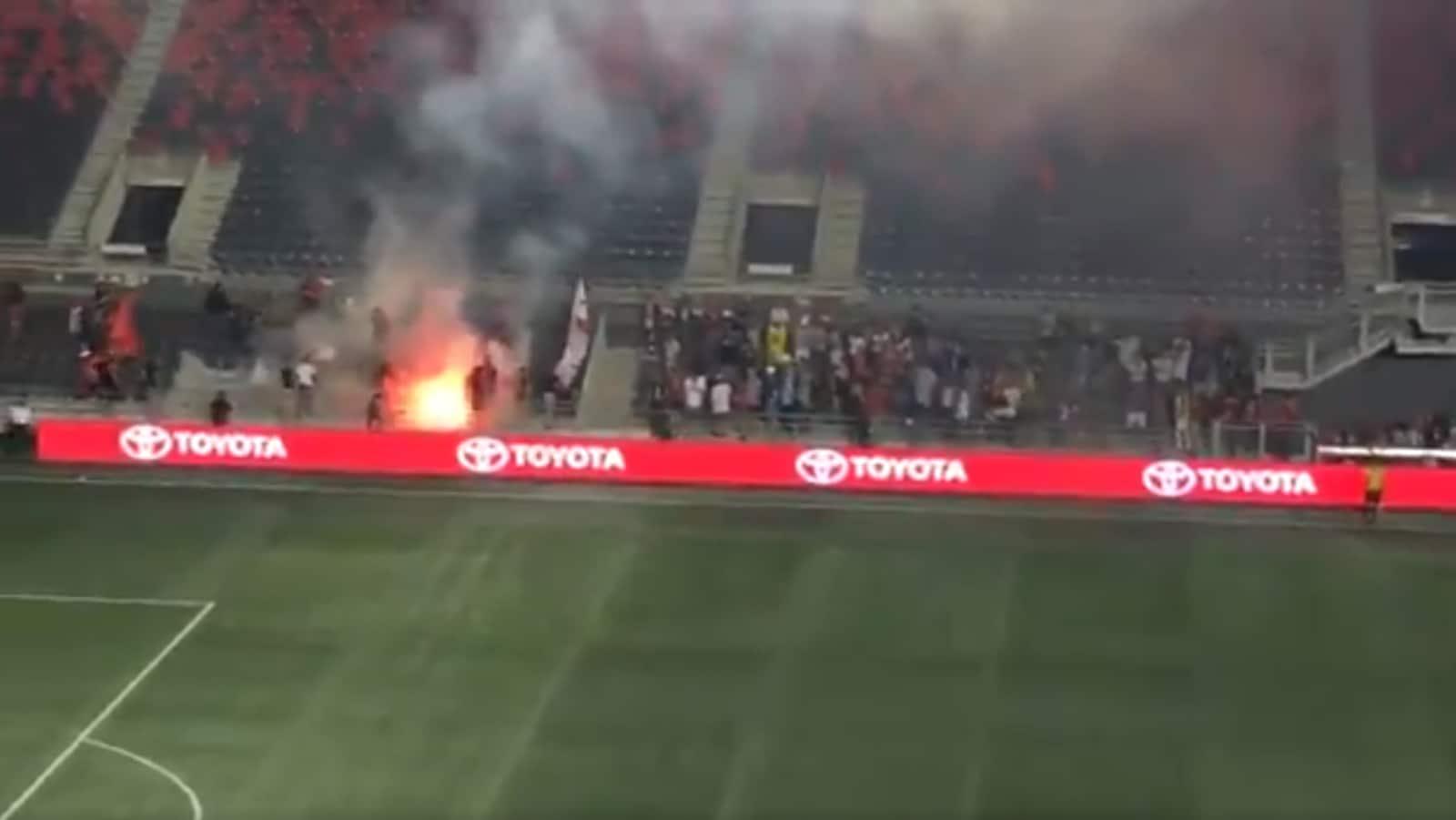 Un incendie a mis fin au match du Fury FC, à Ottawa