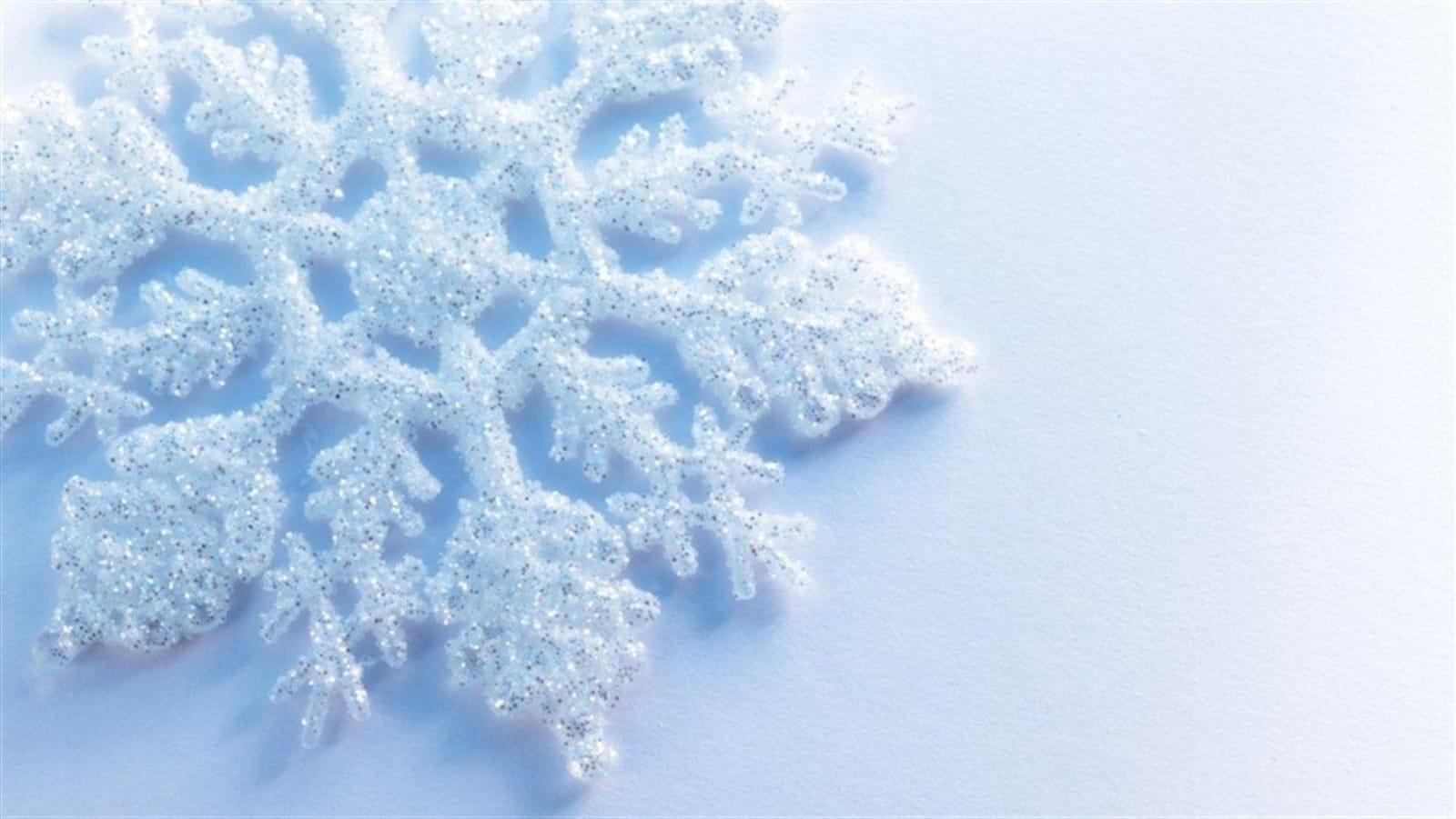 Un flocon de neige