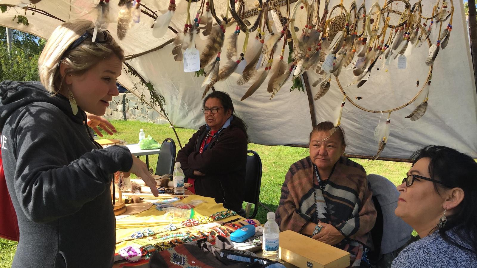 La démarche de rapprochement entre Autochtones et non-Autochtones passe par  l'art.