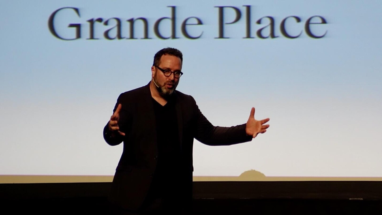 L'architecte et associé principal de firme Sid Lee de Montréal, Martin Leblanc.
