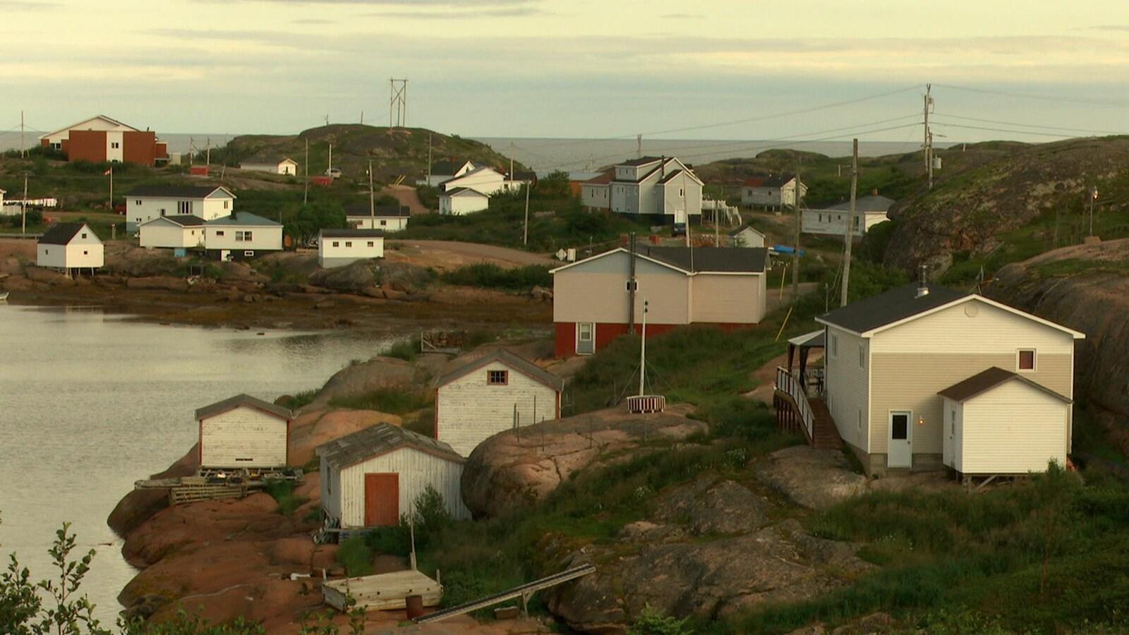 Le village de Mutton Bay, dans la municipalité de Gros-Mécatina, en Basse-Côte-Nord