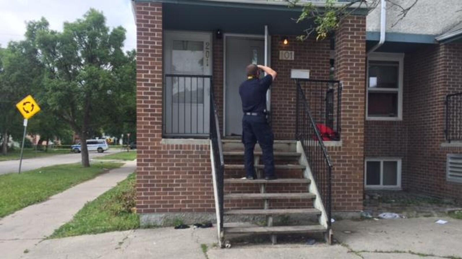 La police de Winnipeg enquête sur un homicide survenu vendredi soir dans le quartier North End.