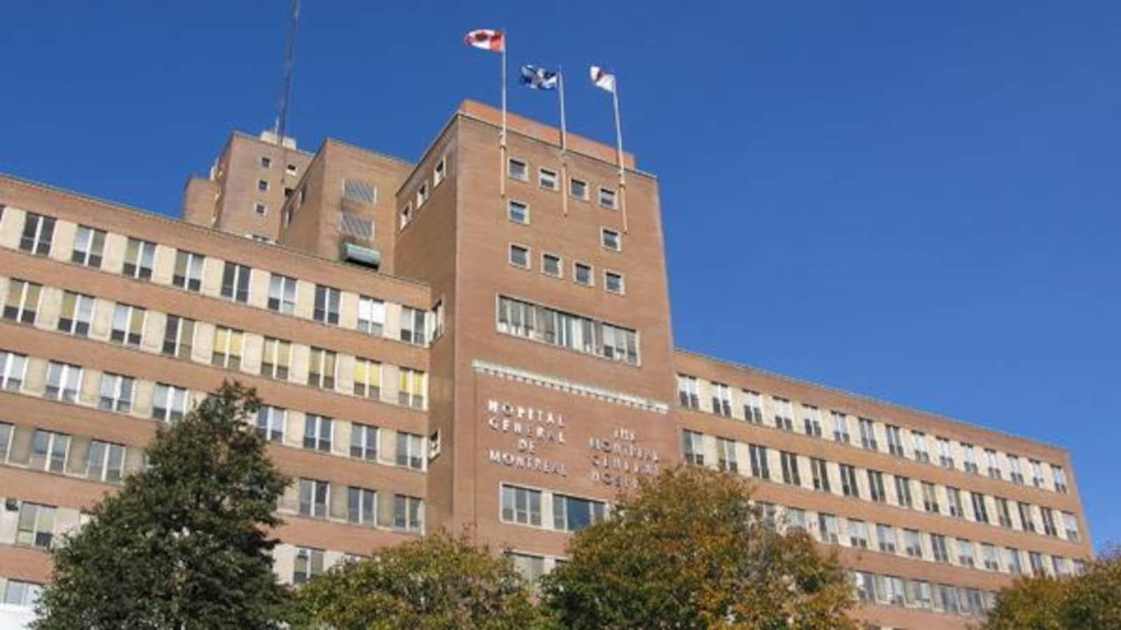 L'Hôpital général de Montréal.