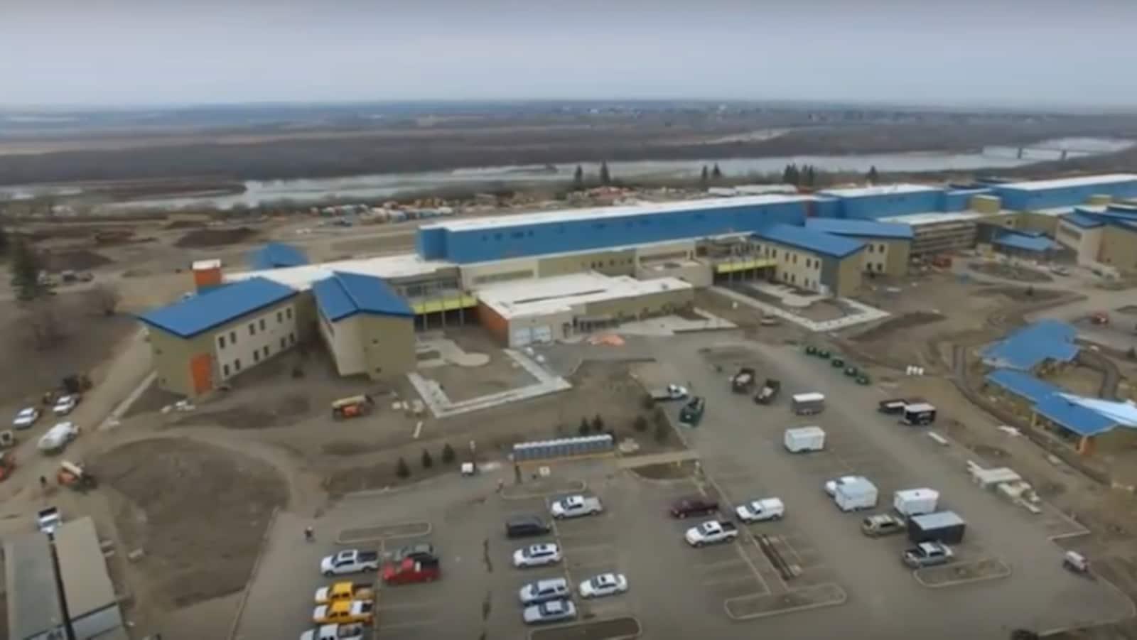 Le nouvel hôpital Saskatchewan Hospital North Battleford.