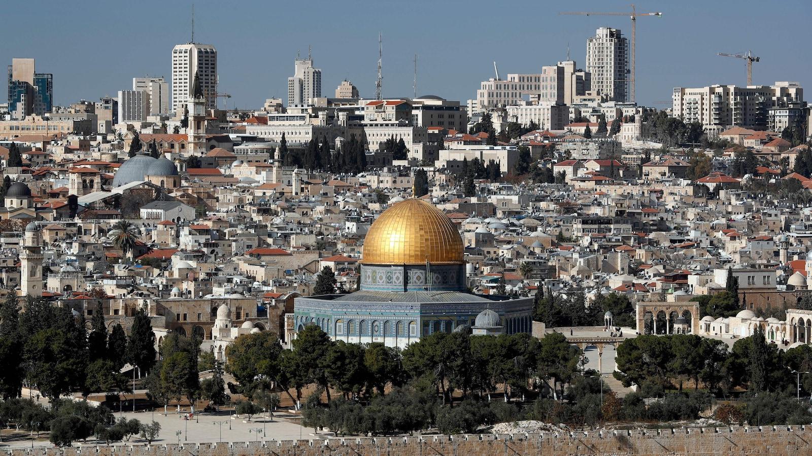 La ville de Jérusalem.