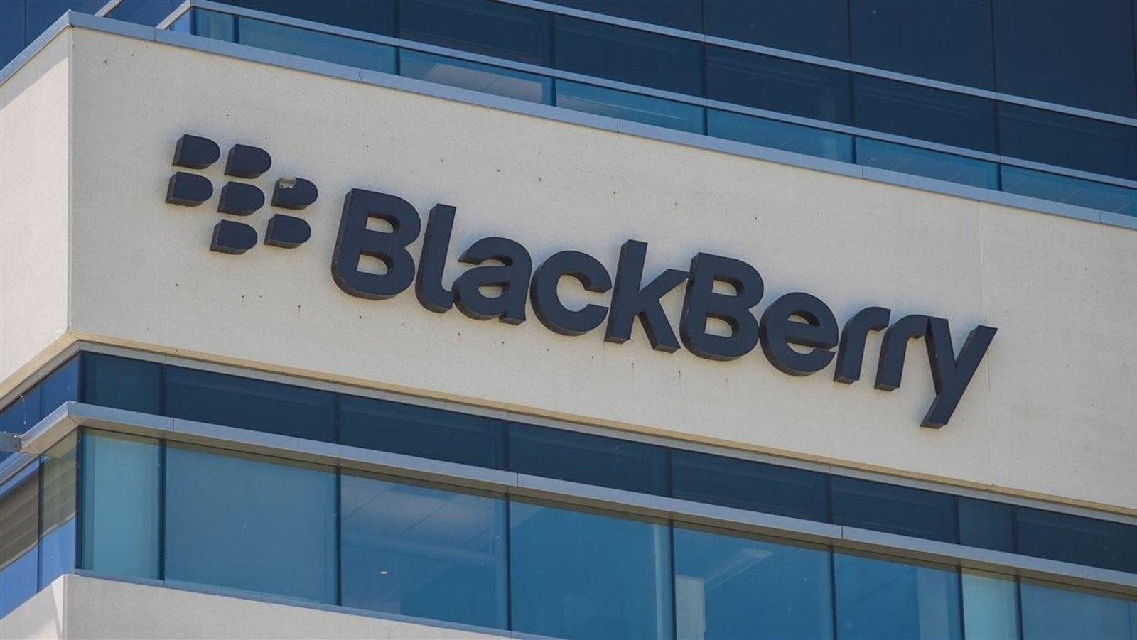 Les locaux de BlackBerry