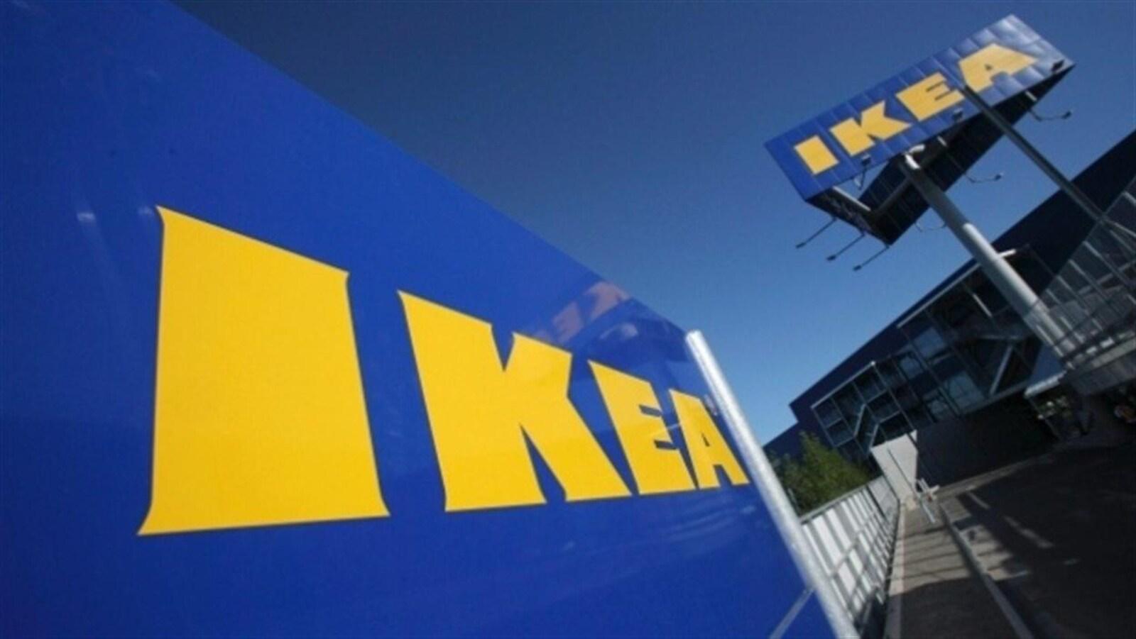 Le signe IKEA.