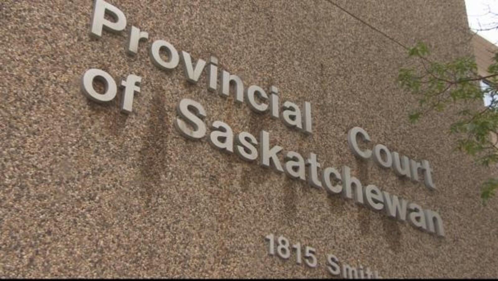 Un édifice de la Cour provinciale en Saskatchewan