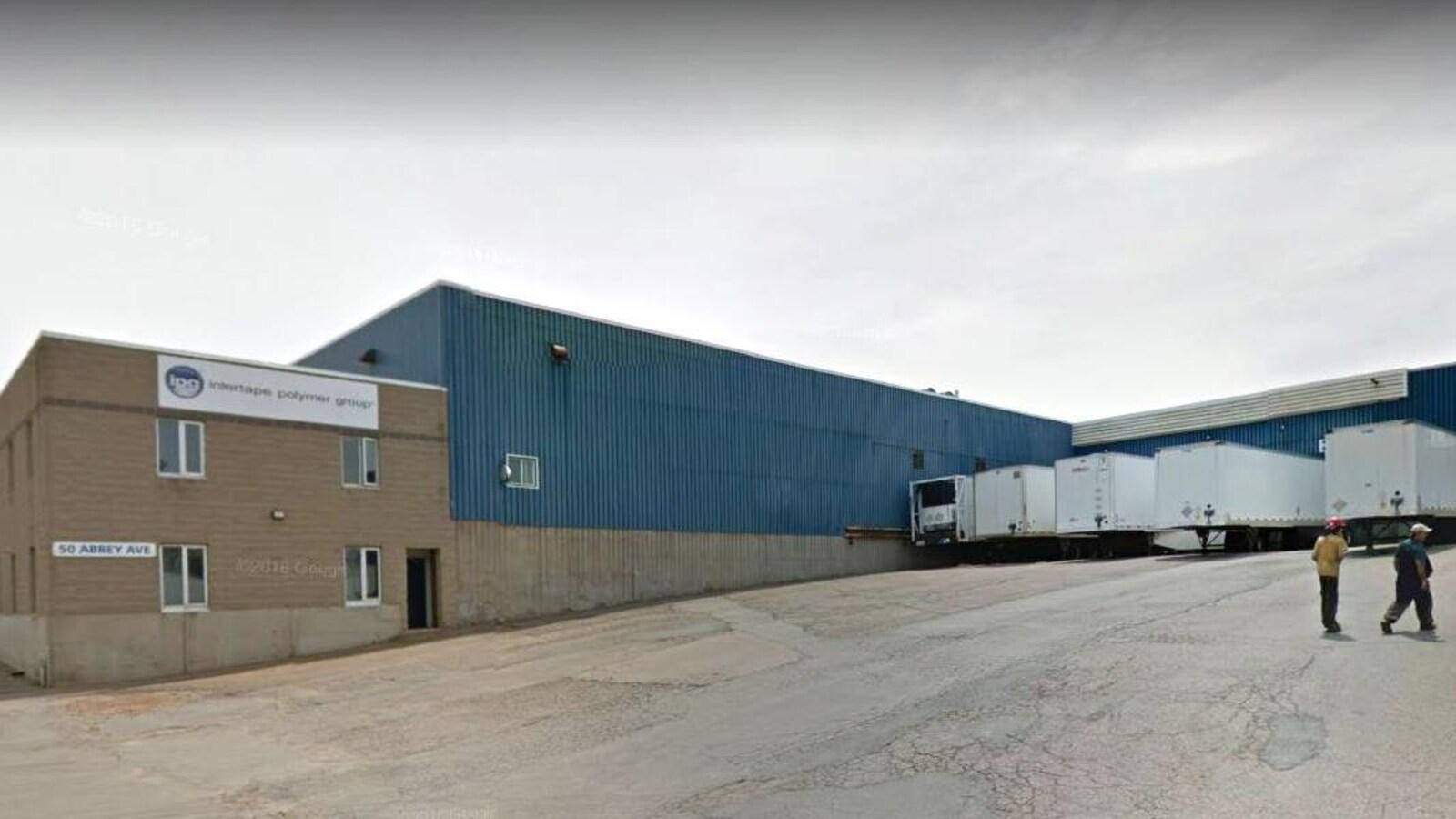 Photo de l'usine Intertape Polymer Group sur Google Street View en juillet 2015.
