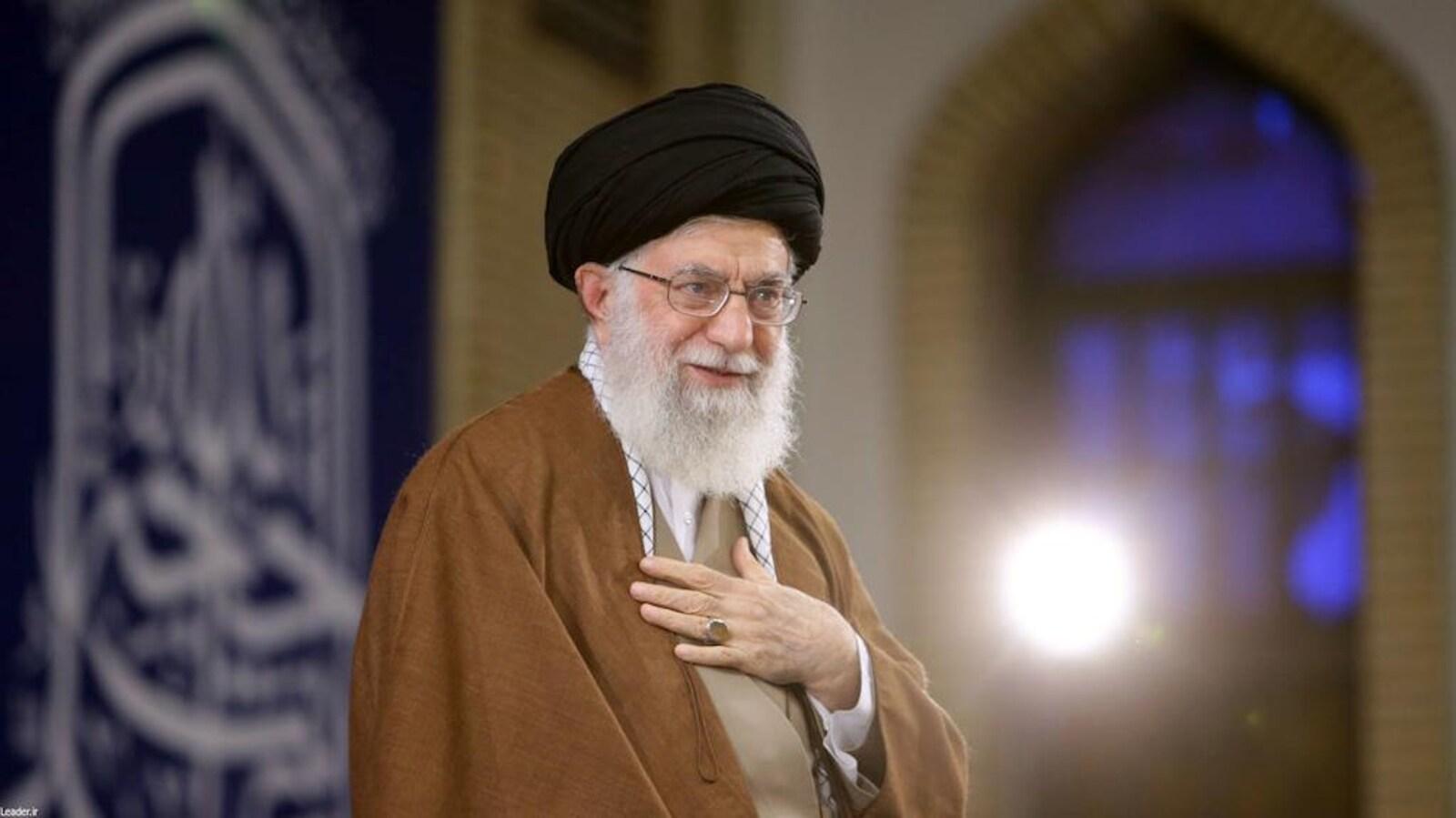 L'ayatollah Ali Khamenei a fustigé la politique américaine.