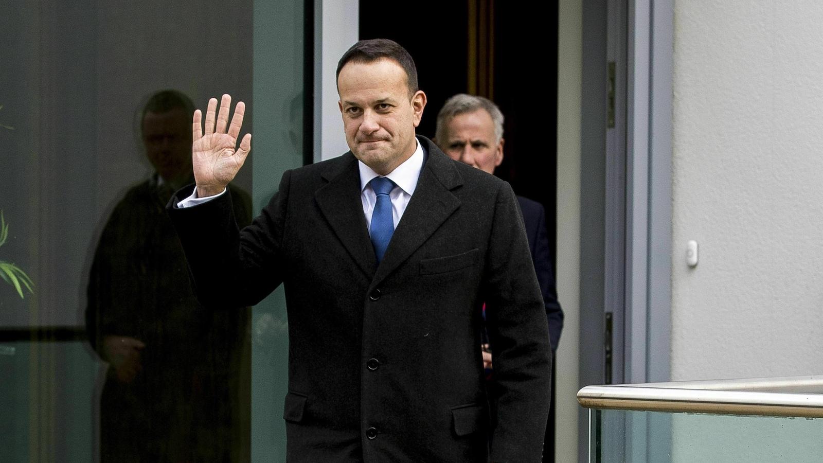 Le premier ministre d'Irlande, Leo Varadkar, à Belfast.