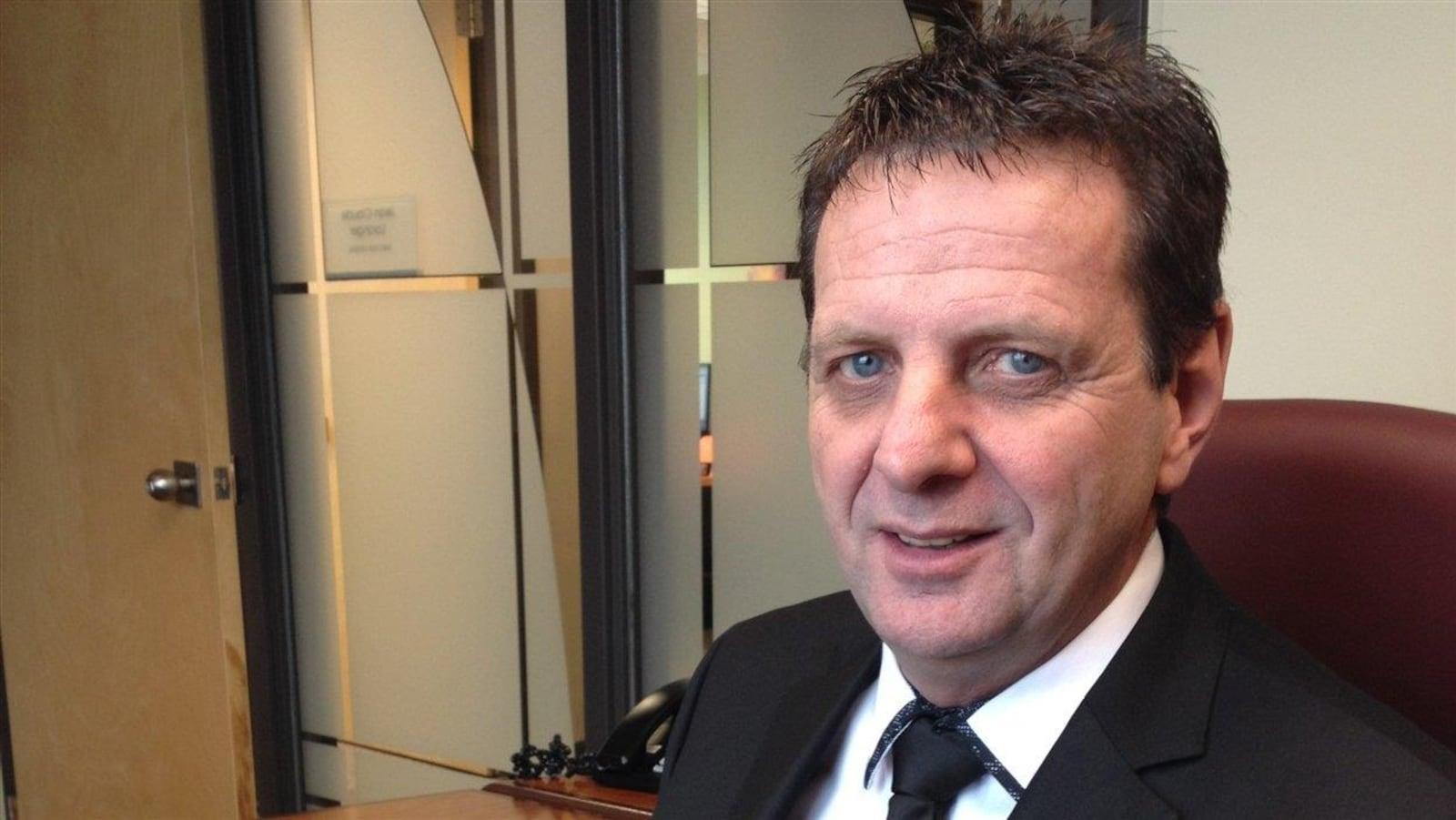 Jean-Claude Loranger, président de la Chambre de commerce de Rouyn-Noranda