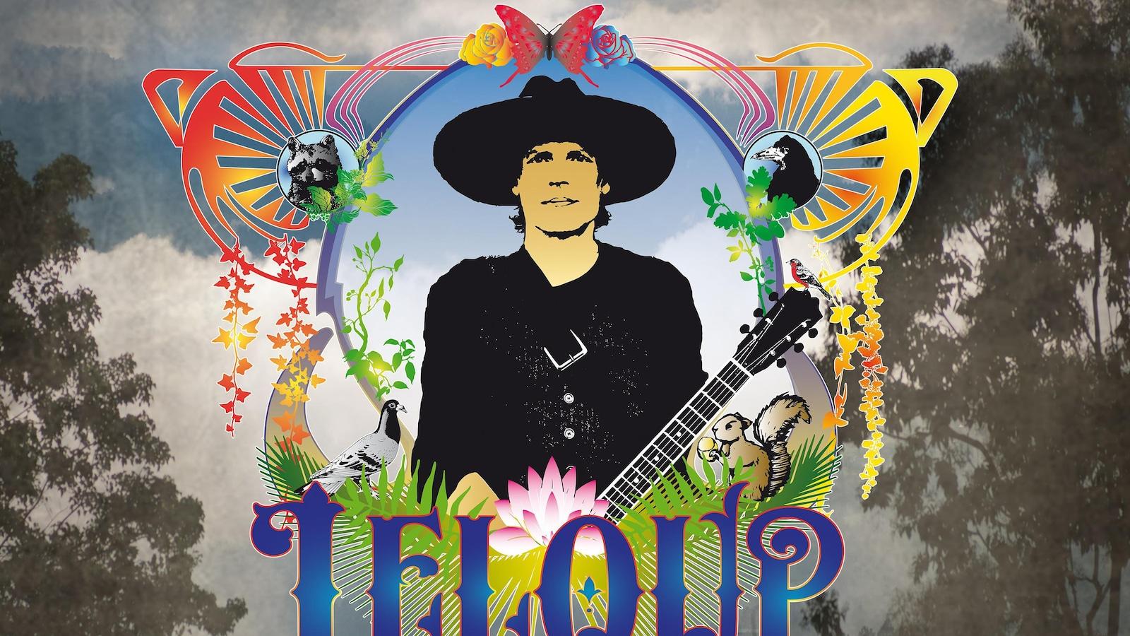 Pochette du nouvel album de Jean Leloup.