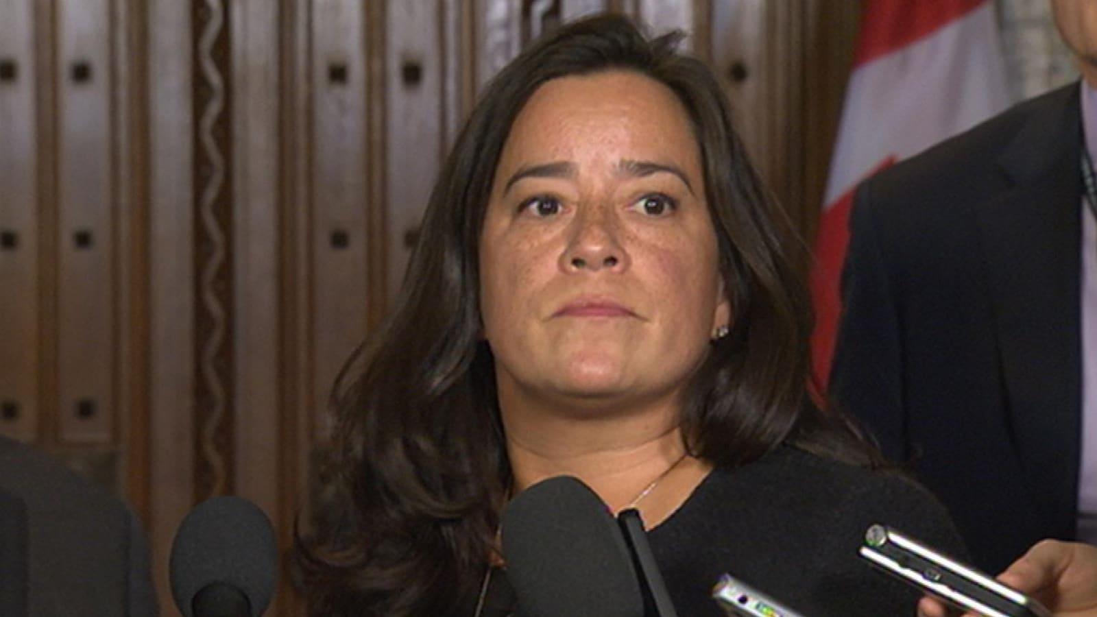 La ministre fédérale de la Justice, Jody Wilson-Raybould.