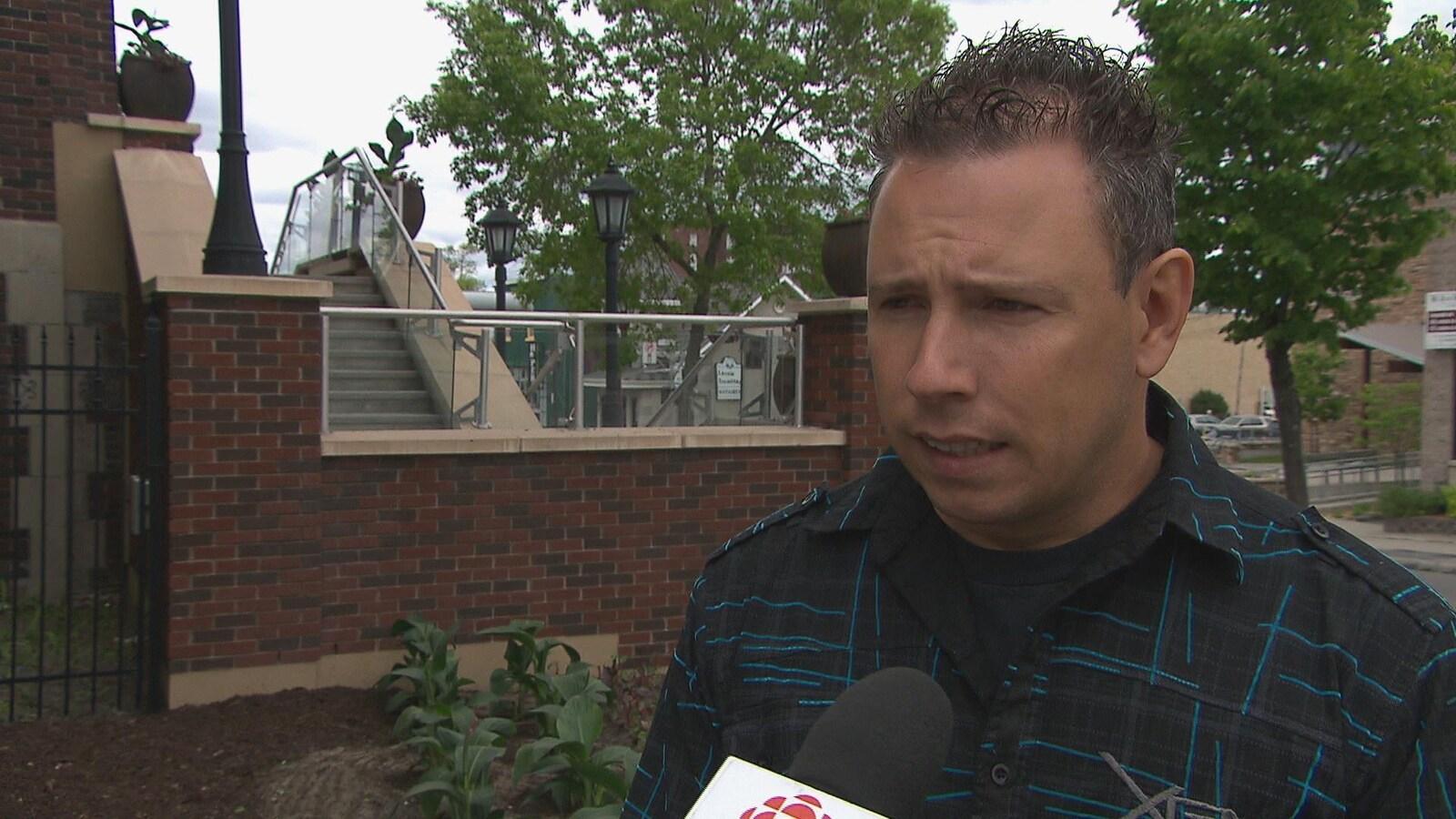 Le conseiller municipal de Saguenay, Jonathan Tremblay