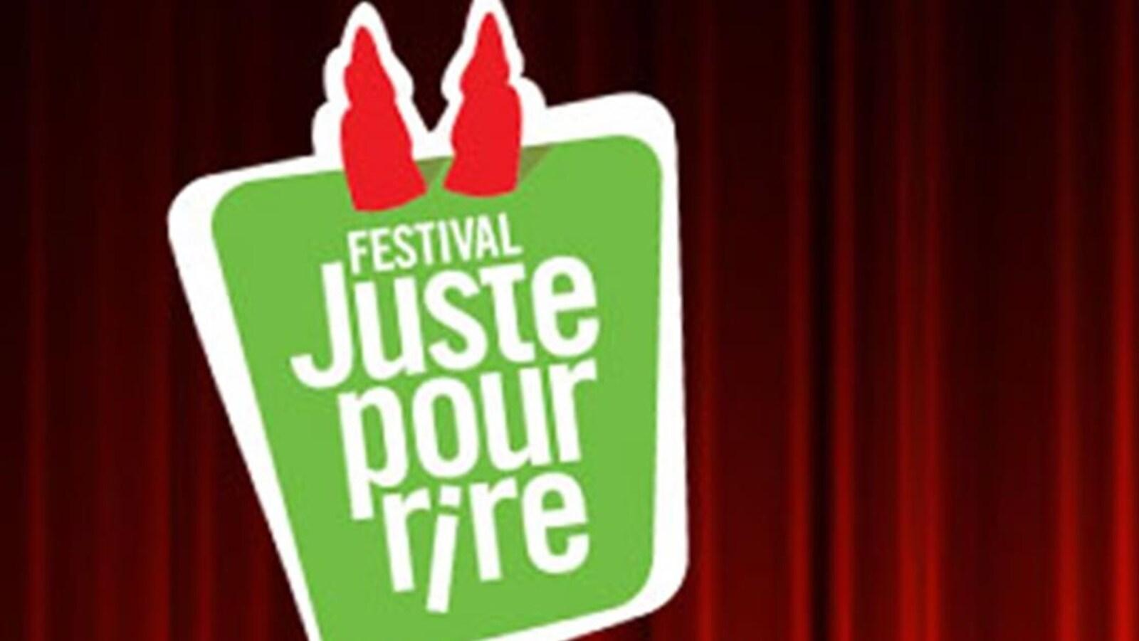 Le logo du Festival juste pour rire.
