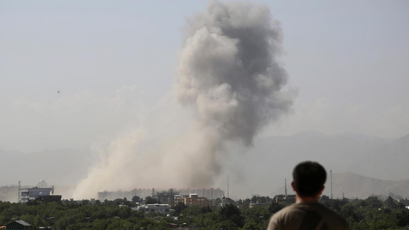 Frappée en plein coeur — Kaboul