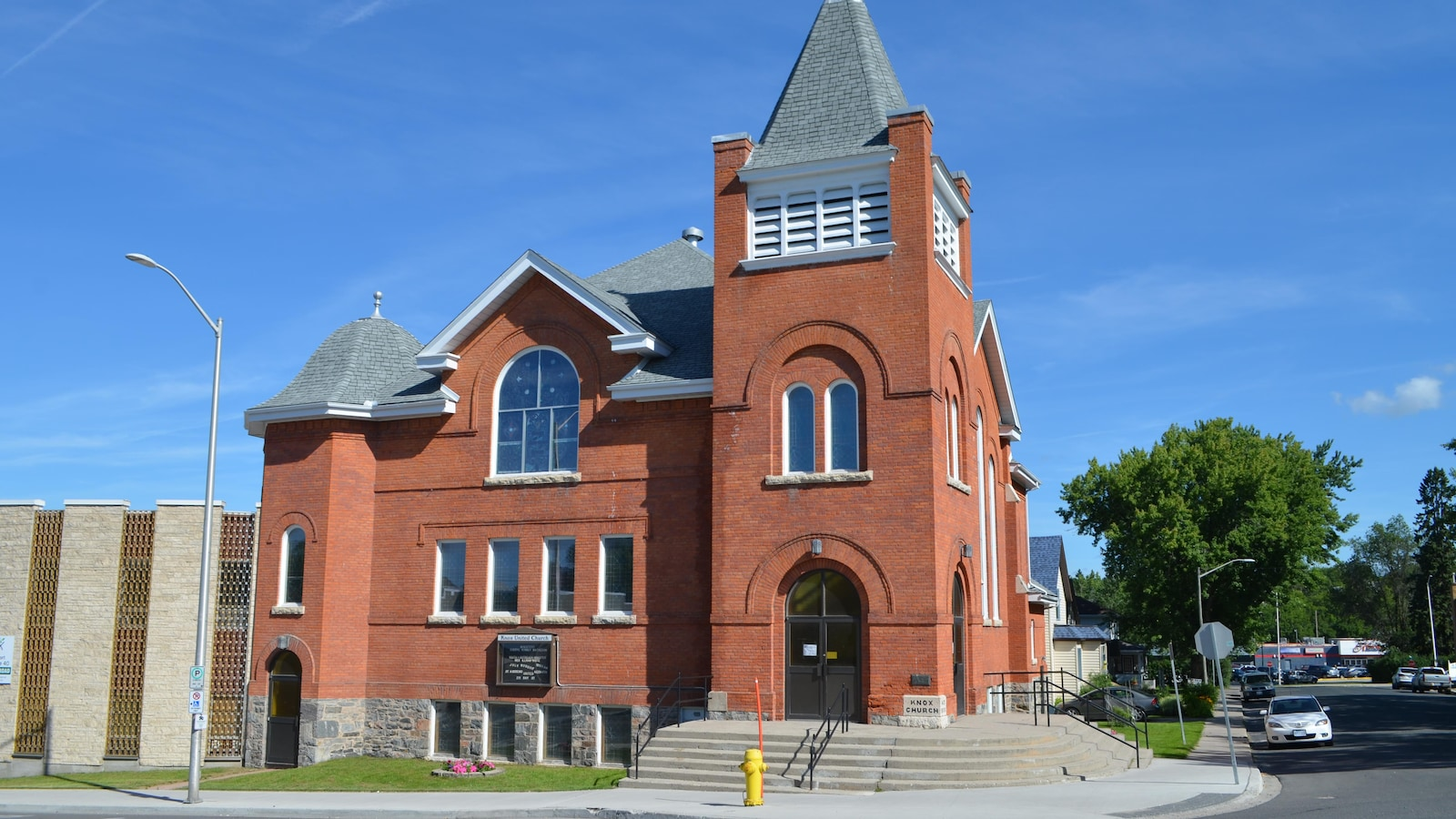 La Knox United Church de Kenora.