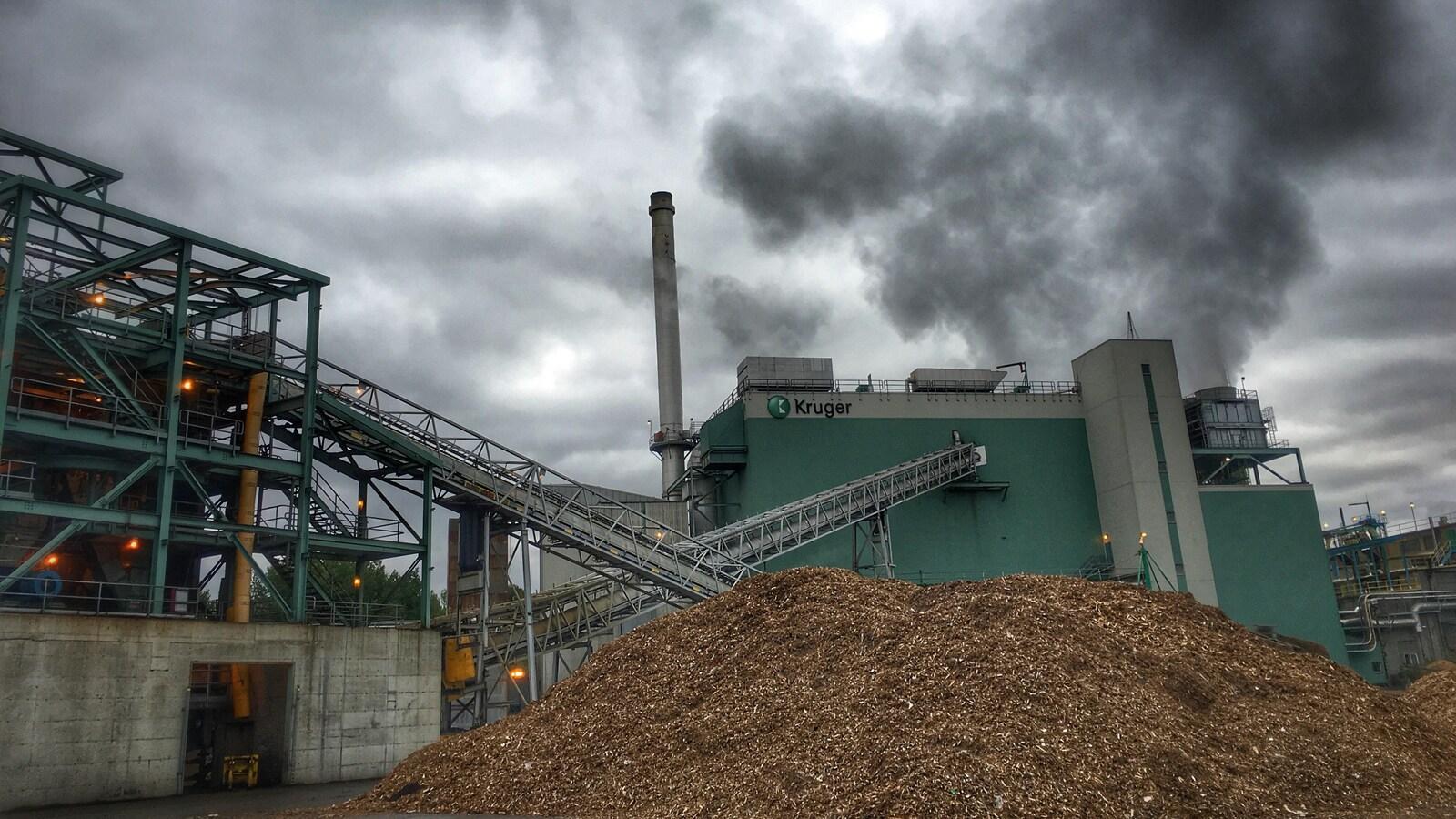 L'usine Kruger de Sherbrooke