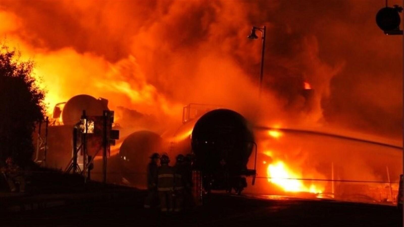La tragédie à Lac-Mégantic a fait 47 morts, dans la nuit du 5 au 6 juillet 2013.