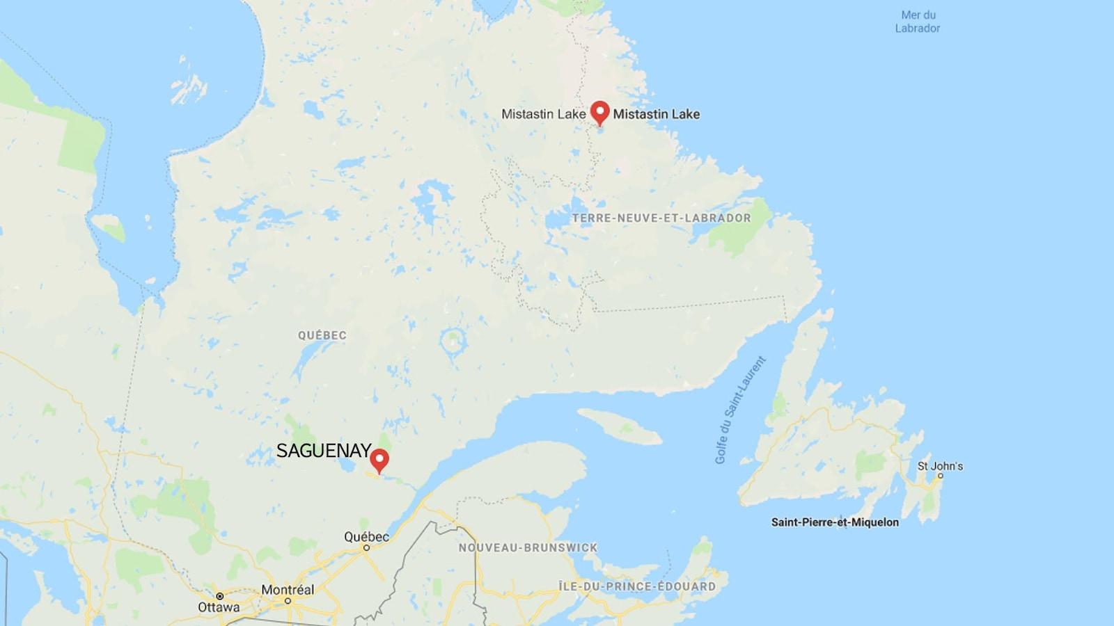 Canada : trois morts et quatre disparus dans le crash d'un avion