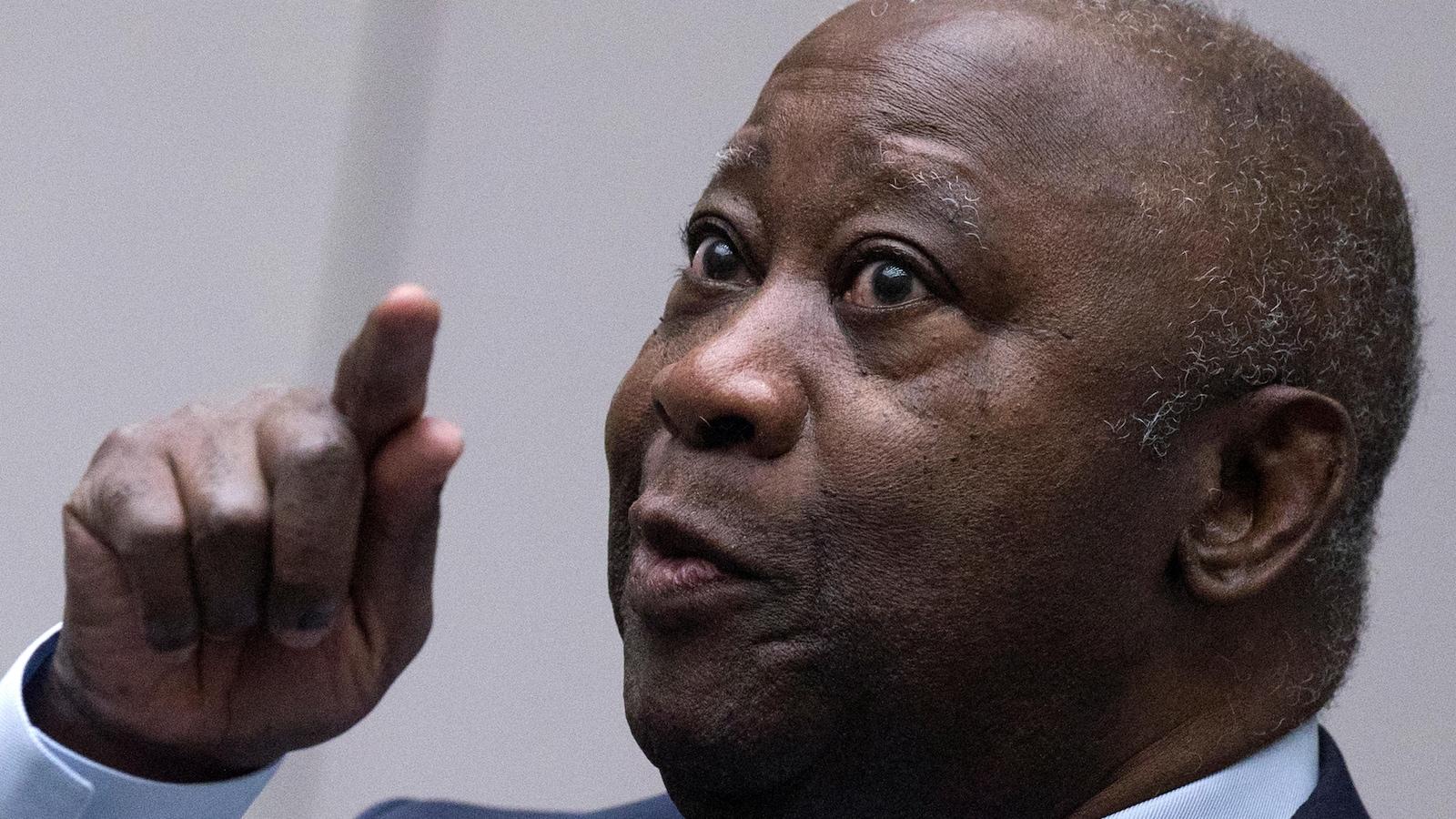 L'ancien Président de la Côte d'Ivoire Laurent Gbagbo