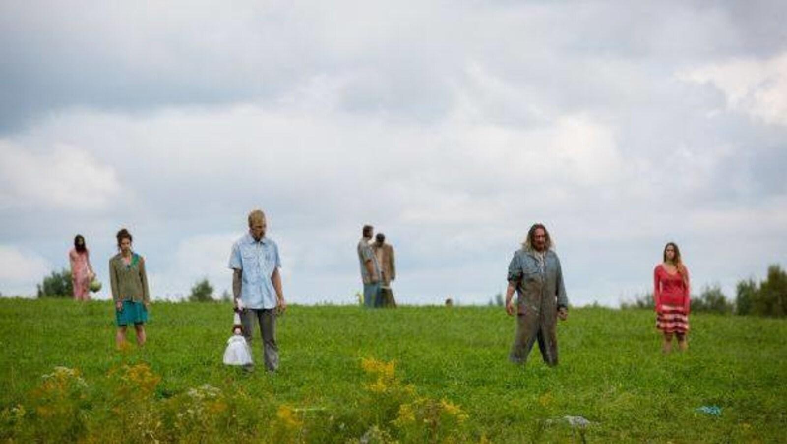 Une scène du film « Les affamés »