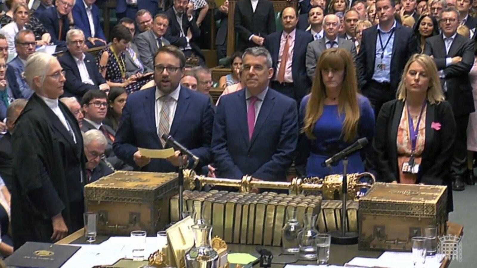 Les députés ont adopté par 317 voix, contre 286, un texte de loi qui prévoit de transformer les accords commerciaux entre l'UE et des pays tiers en accords bilatéraux entre ces pays tiers et la Grande-Bretagne.