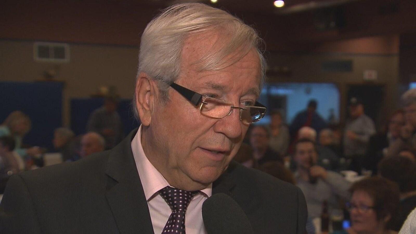 Le député Louis Plamondon