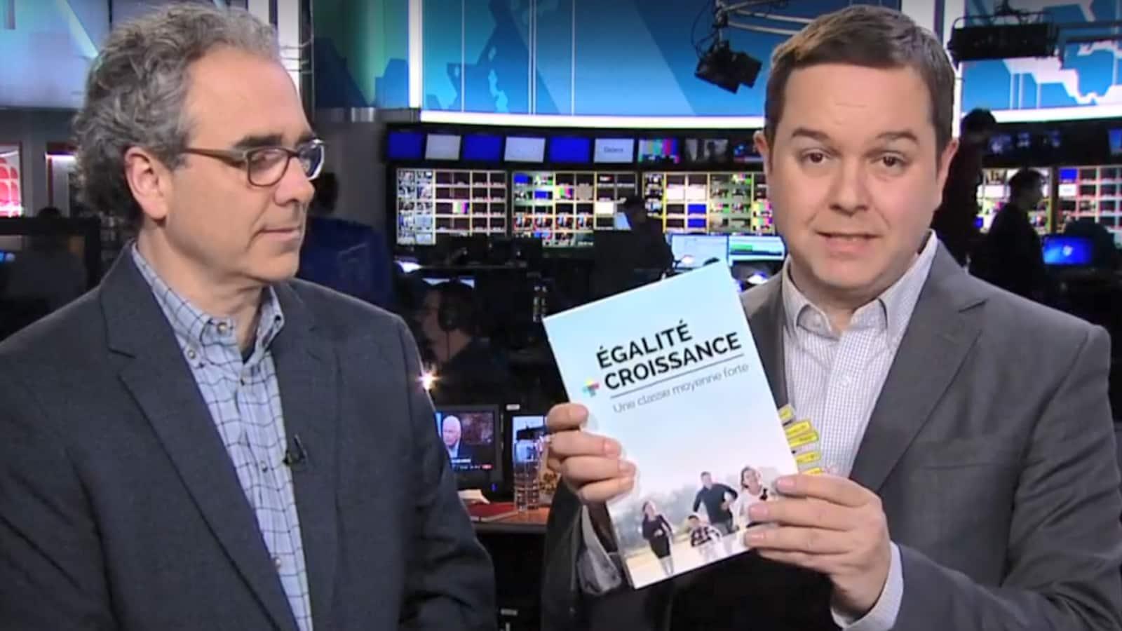 Luc Godbout et Gérald Fillion.