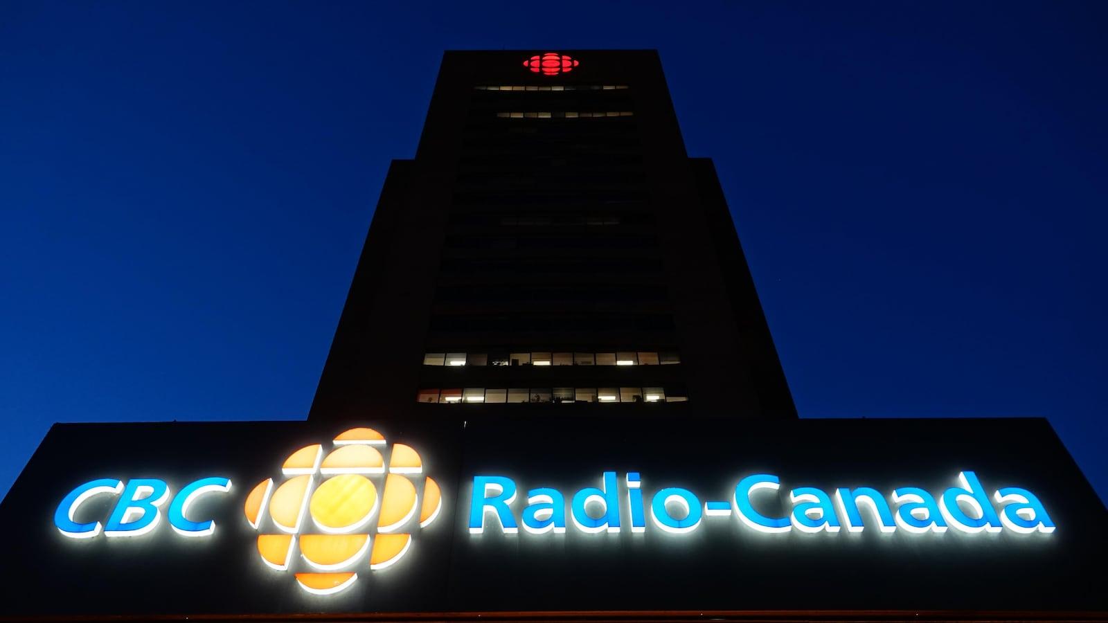 La Maison de Radio-Canada à Montréal.