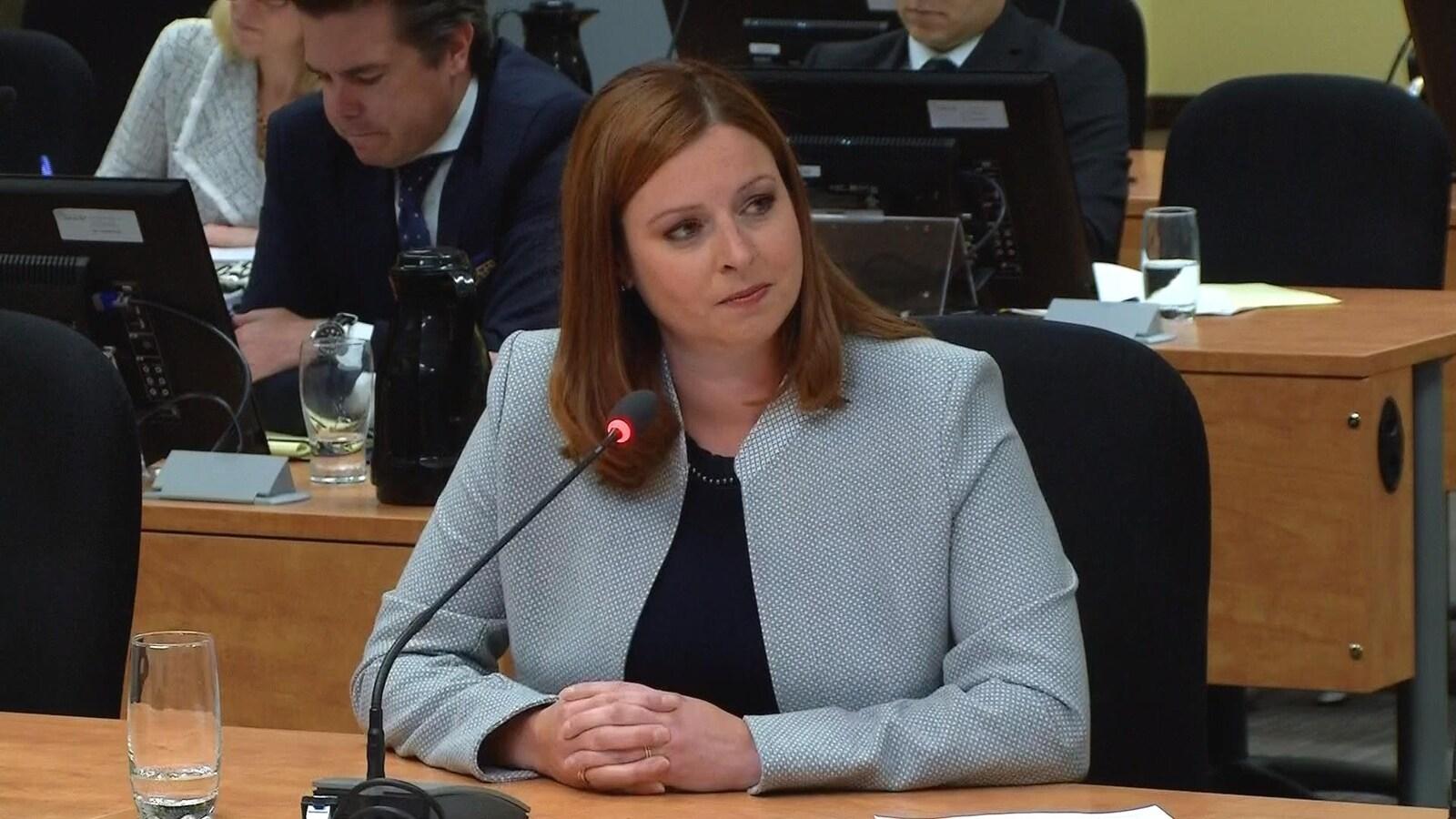 Marie-Maude Denis devant la commission Chamberland