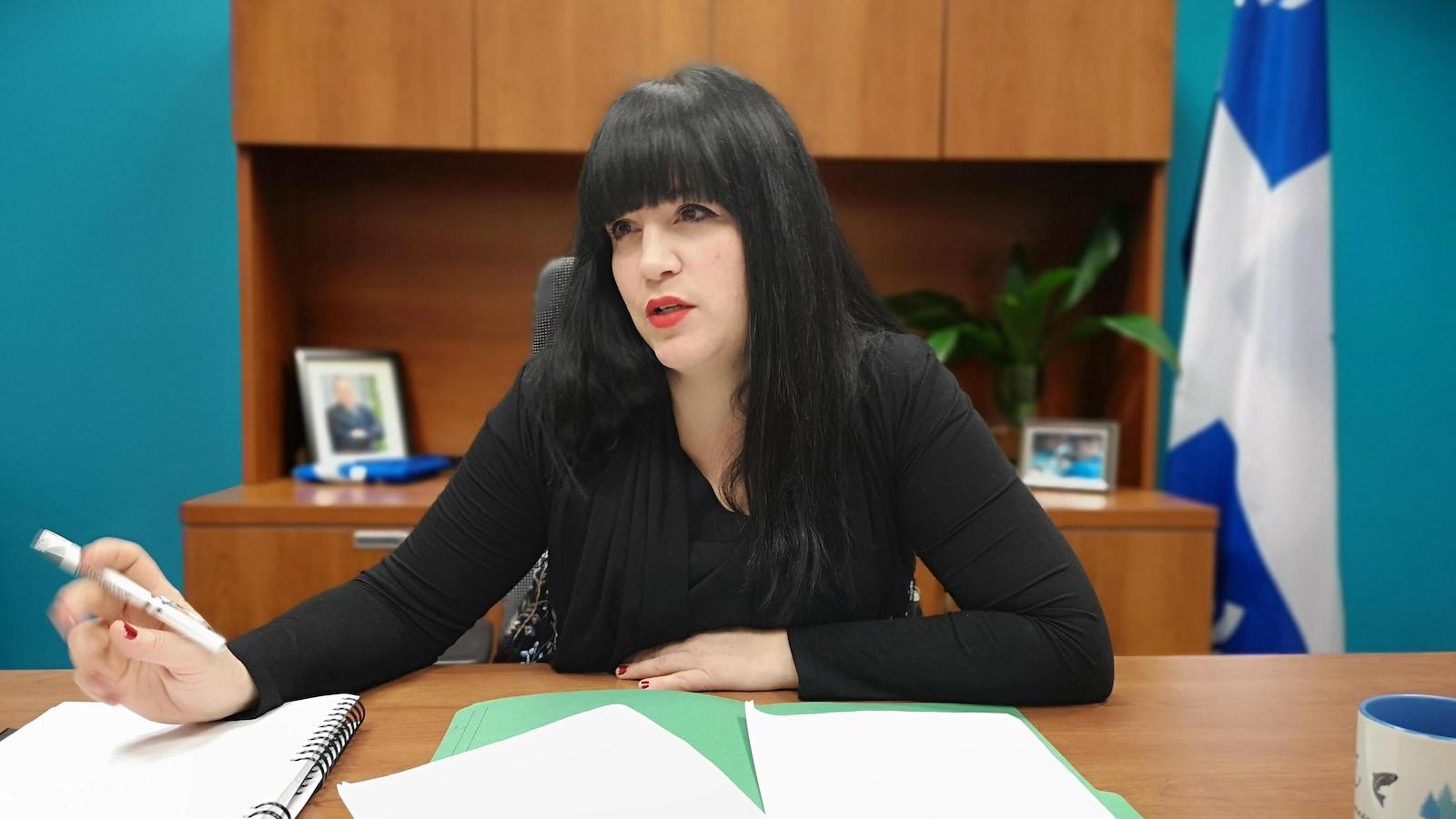 Marilène Gill, députée du Bloc québécois pour la circonscription de Manicouagan