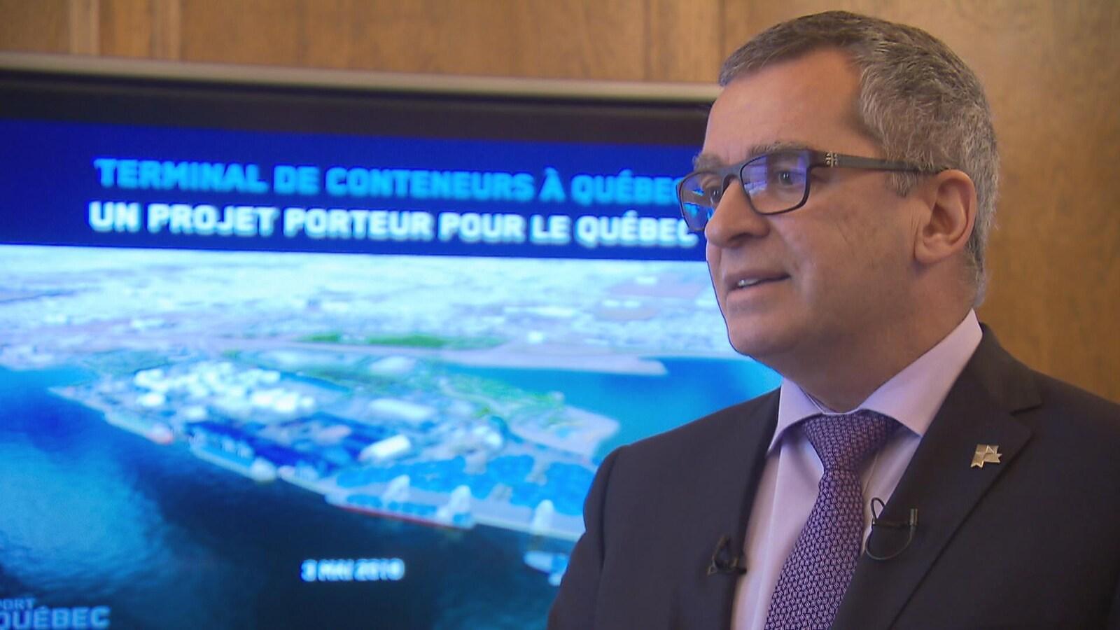 Mario Girard, président-directeur général du Port de Québec