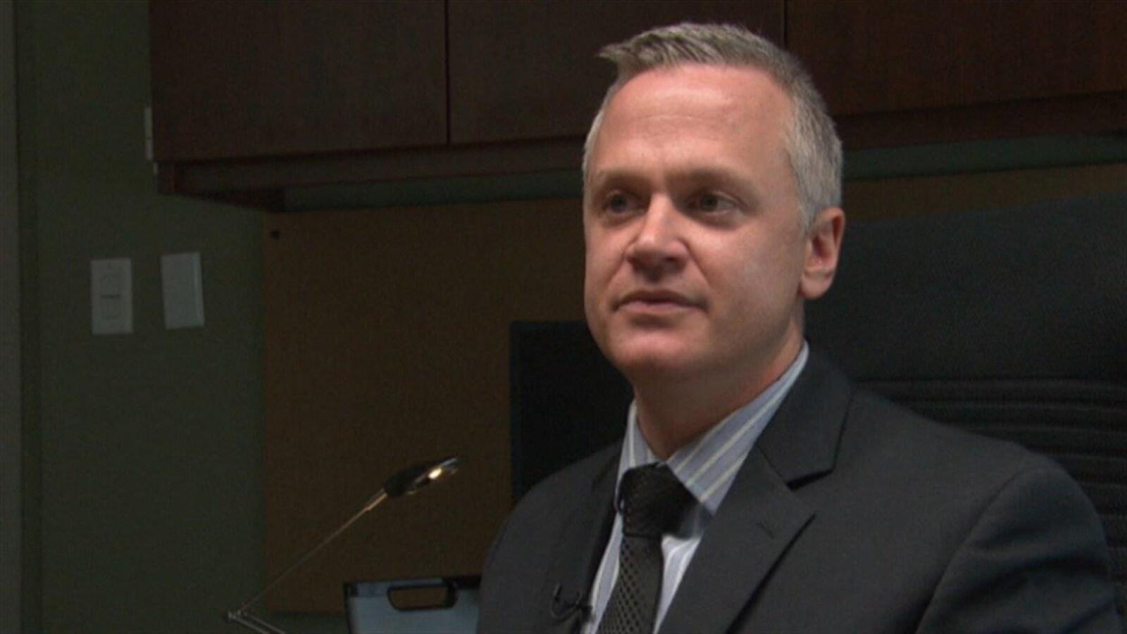 Matt Skof en entrevue à Radio-Canada