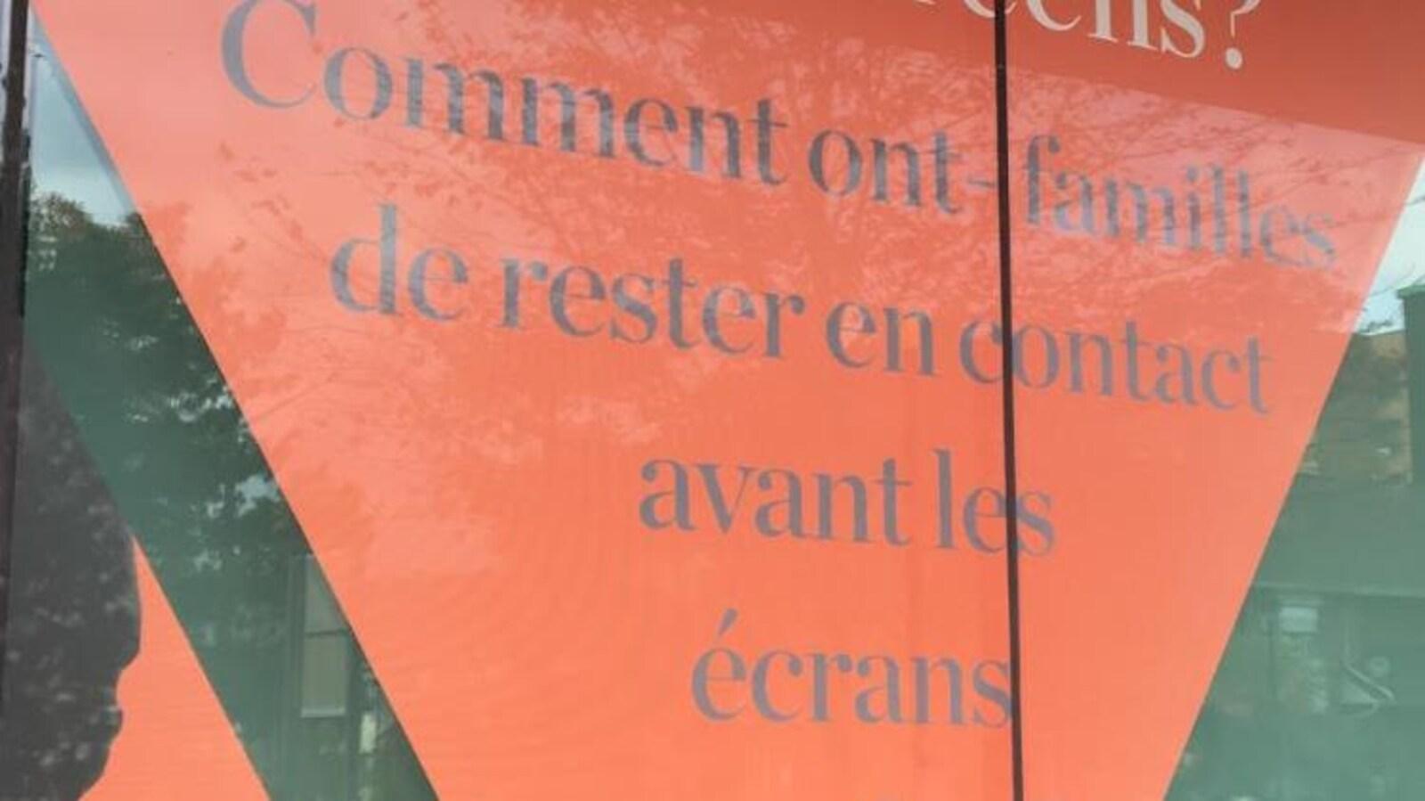 Un message en français pas très clair