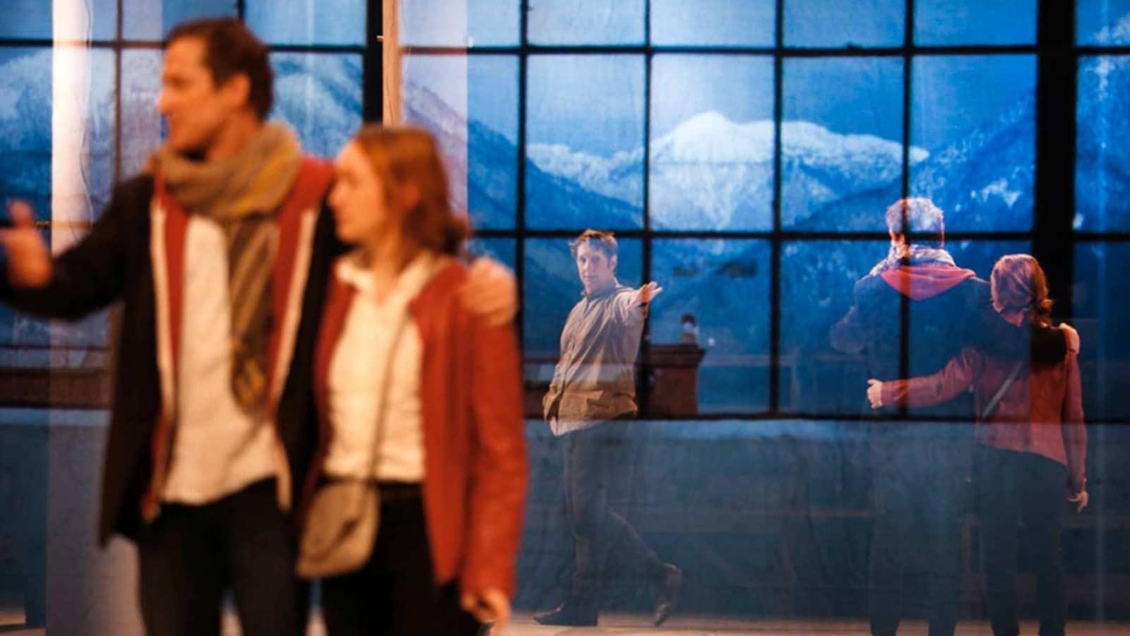 Robert Lepage met en scène la pièce « Kanata ».
