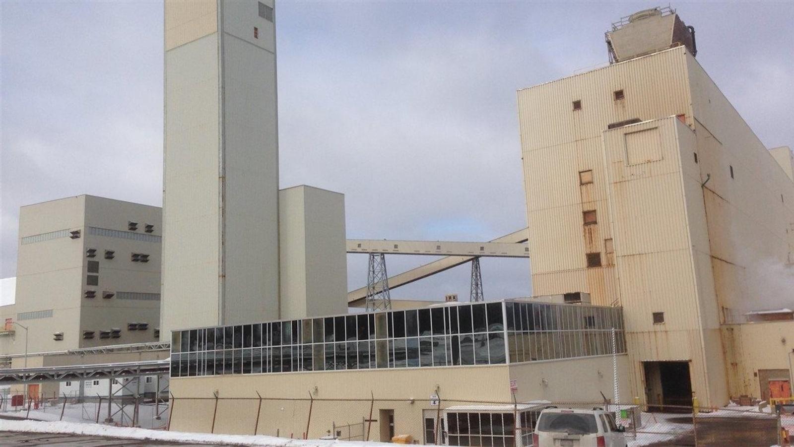 L'ancienne mine de Penobsquis qui a fermé en décembre 2015.